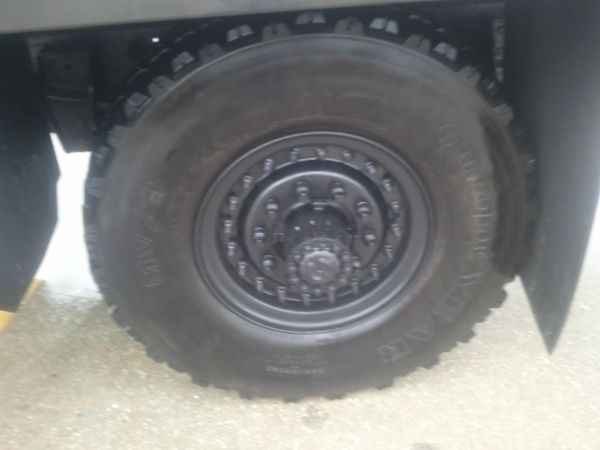 Military Rims and Tires (Great Deal) - $700 (Broussard)