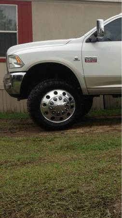 22 alcoa dually wheels with 37 ss m16 tires - $5500 (Opelousas)