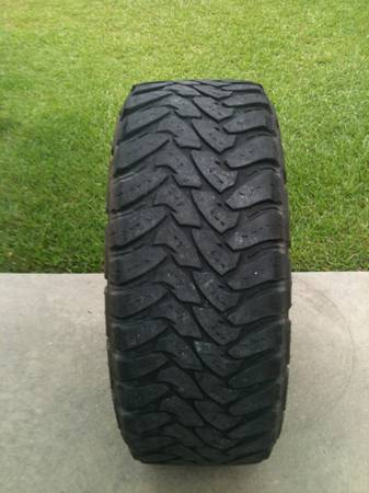 TIRES FOR SALE (4) LT 35X12.5020 TOYO OPEN COUNTRY MT - $175 (LAFAYETTE)