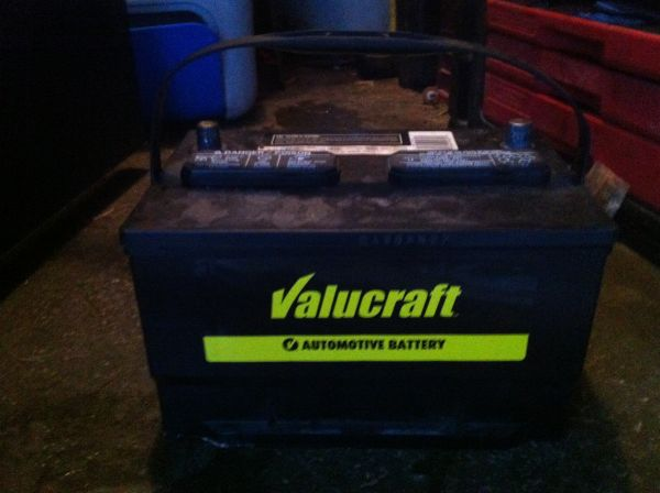 Valucraft 65-VL battery still under warranty - $60 (Lafayette )