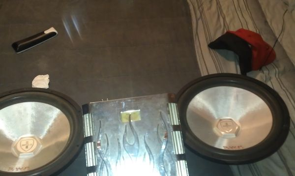 two 15 subwoofer. package - $375 (New Iberia)