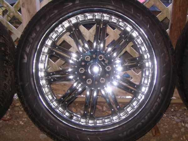 22 KMC Wheels and Tires - $600 (Eunice)