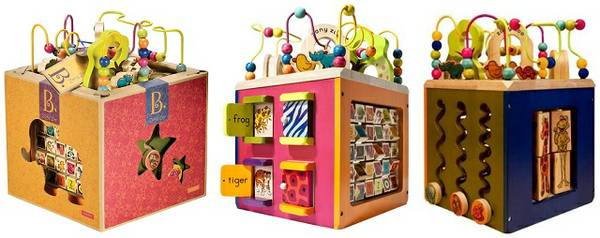 Zany Zoo Wooden Activity Cube - $35 (Ville Platte )