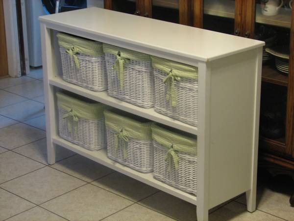 2 Shelf Basket Bookcase-Precious -   x0024 150