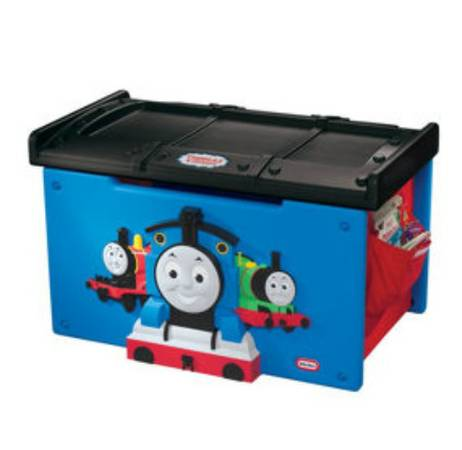 THOMAS THE TRAIN TOY BOX - $40 (SOUTH SIDE)