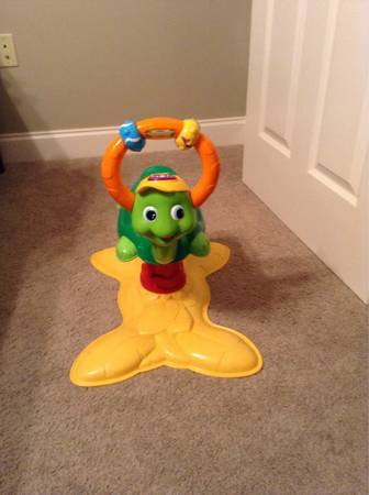 Vtech Jungle Gym - Bouncing Colors Turtle - $15 (New Iberia)
