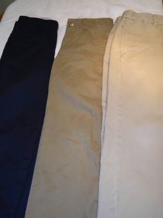 Boys Uniform Pants, sz 7 Gymoboree Gap - $25 (Lafayette)