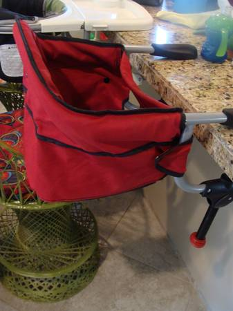 Chicco Hook-On Highchair - $18 (Lafayette)
