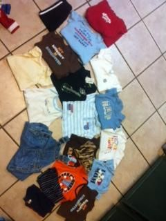 Baby boy cloths and shoes for sale (Opelousas)