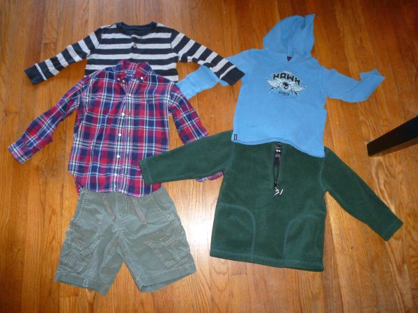 Boys clothes 4T  5T (Gap, Old Navy, Tony Hawk) - $10 (Lafayette, LA)