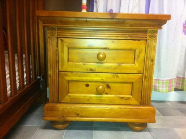Baby Bed, Dresser, Night stand - $700 (Scott, la)