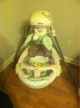Infant Papasan Swing - $80 (Lafayette, La)