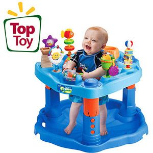 evenflo exersaucer activity center, mega Splash - $30 (Erath)