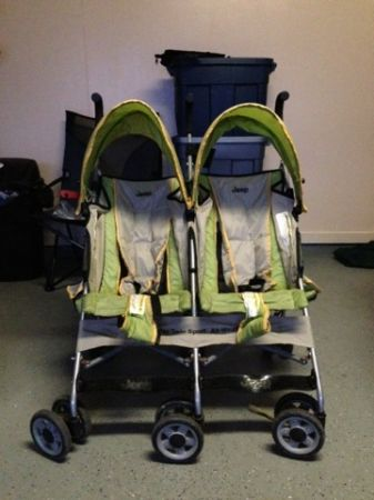 Jeep Double Umbrella Stroller - $30 (Youngsville)