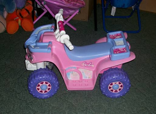 Power Wheels Barbie Lil Quad - $50 (Erath, LA)