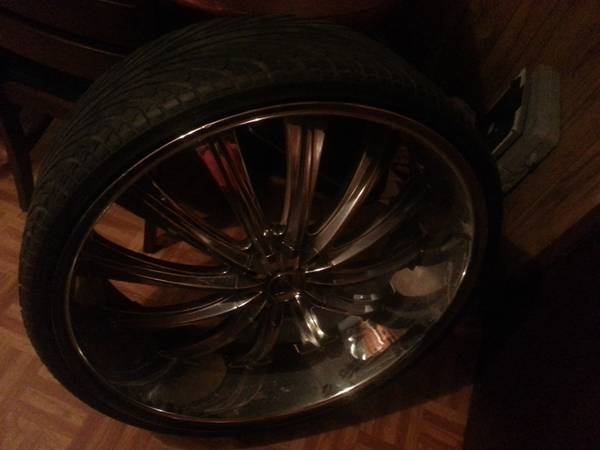 28 inch rims and tires - $3000 (crowley la)