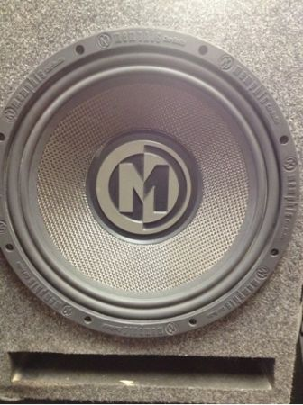Memphis Audio 12 Speaker in custom box - $100 (Lafayette, La)