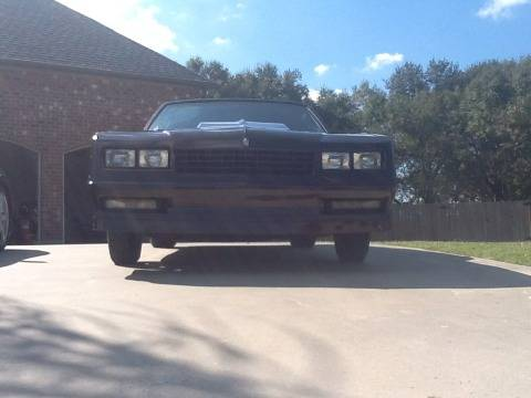 1985 Monte Carlo SS - $6500 (Youngsville, LA)