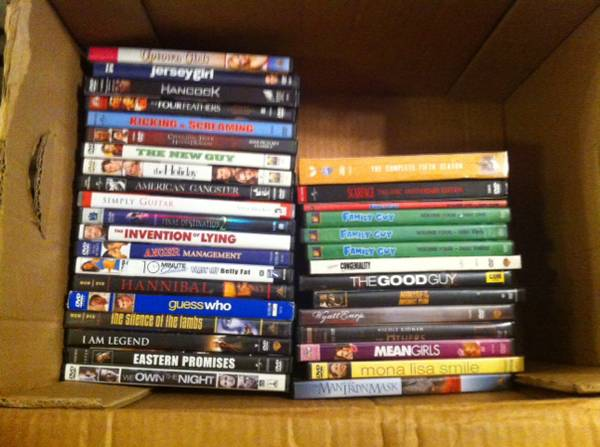 Lot of DVDs -   x0024 40  Broussard