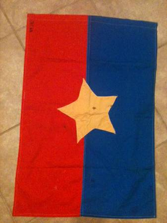 Viet Cong flag  the real thing -   x0024 1000  New Iberia