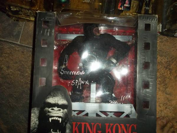 7 signed action figure by( Al Simmon Spawn) - $1300 (lafayette)