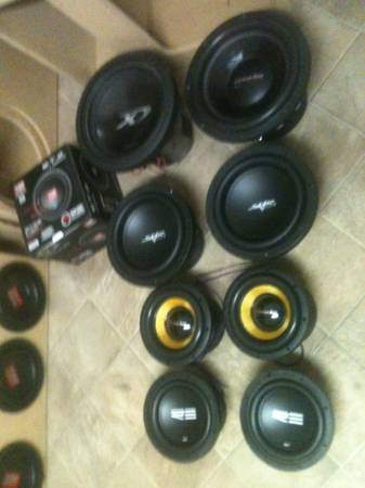 3 - American Bass XFL 1244 12 inch Subwoofers - $750 (Elite Sound Concepts Erath, LA)