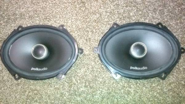 polk audio DXi570 5x7 speakers - x002450 (lafayette)