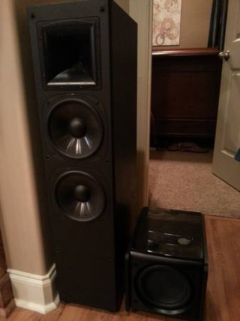 Pair of Klipsch Synergy Series SF-3 Tower speakers - Dual 8 woofers - $350 (lafayette )