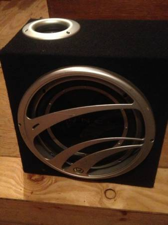 12 PUNCH subwoofer for trade (New iberia)