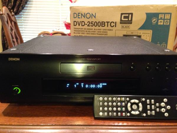 Denon DVD-2500BTCI Blu-ray player - $299 (70518)