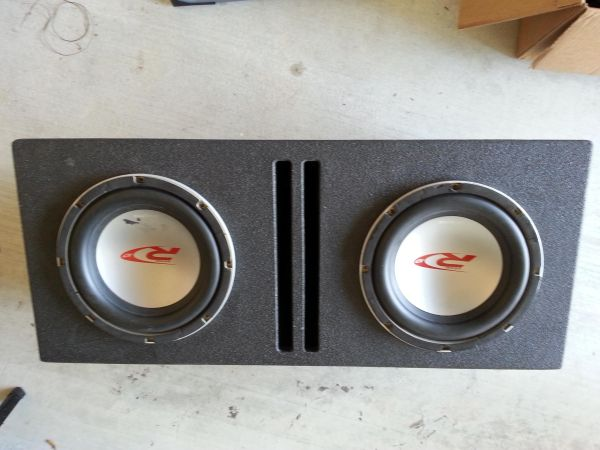 2 10 Alpine Type R Subs with Box - $150 (Youngsville)