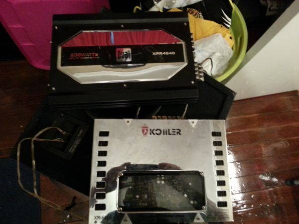 subwoofers in a box - $350 (Lafayette)
