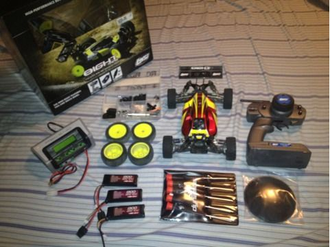 Rc losi mini buggie package - $300 (Erath)