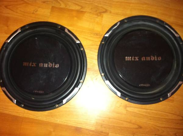 10 inch subs - $90 (Lafayette)