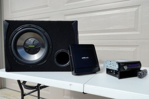 Car Stereo Complete System - $250 (Lafayette)