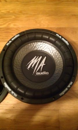 10 MA Audio 600 watt Competition SubWoofers and Box Inclosure - $300 (Broussard)