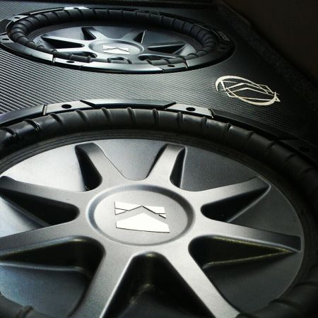 kicker cvr 12s in ported kicker box, ect. price ma chabge with trade - $500 (cecilia)