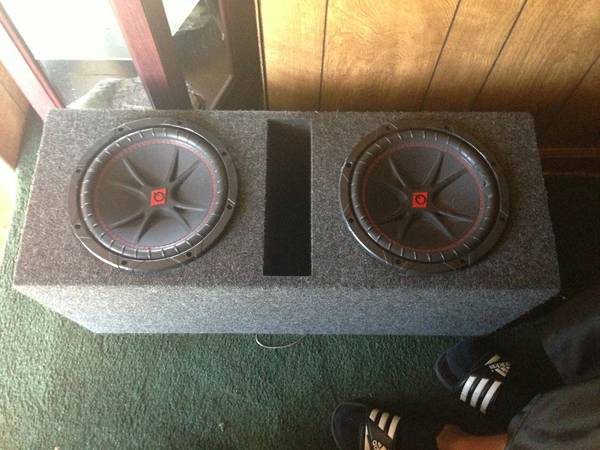 2 q power 10s in ported box (Lafayette )
