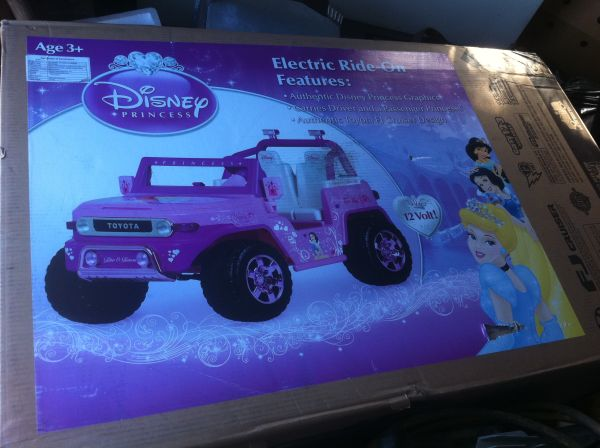brand new in the box power wheel for a little girl - $200 (sunset louisiana)