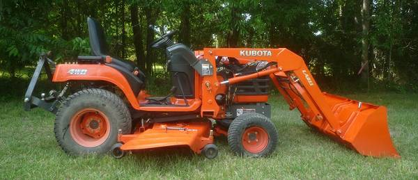 2003 Kubota BX2230 with Loader and Belly Mower - $9500 (Lafayette, LA)