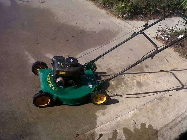 weed eater brand push lawn mower - $25 (lafayette)