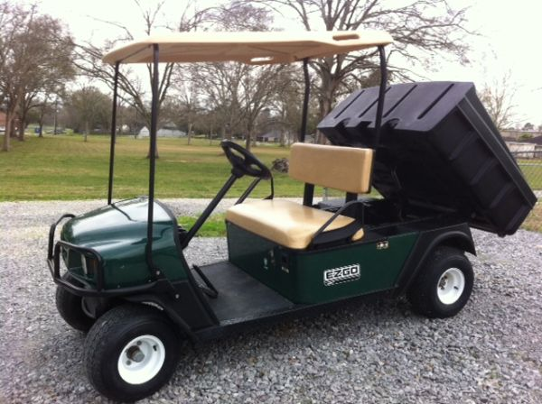 Golf Cart with Electric Dump Bed - $3250 (Lafayette)