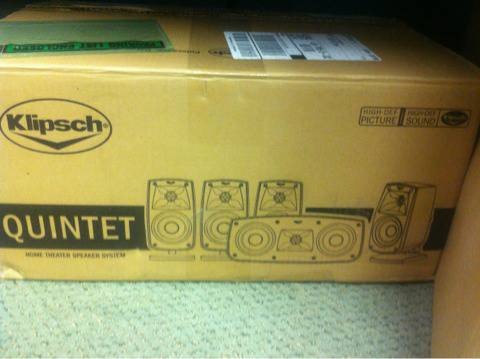 Klipsch surround sound speakers - $250 (New Iberia)