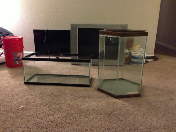 30g Oceanic Hex Fish Tank 20g Long Tank (Lafayette)