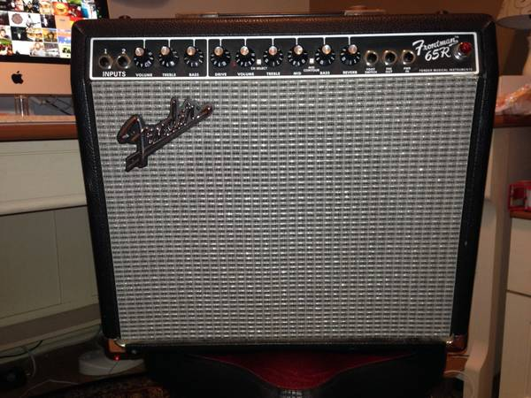 Fender Frontman 65R Guitar Amp footswitch - $110 (lafayette)