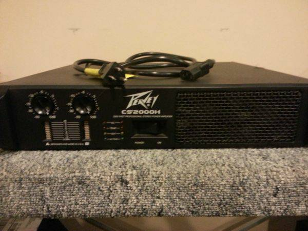 PEAVEY POwer s and Dj Equipment