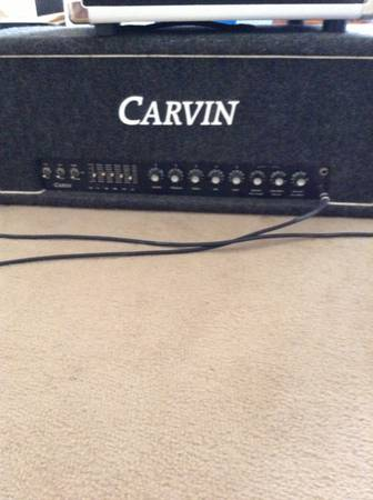 Carvin x100b 100 watt head - $250 (Crowley, La)