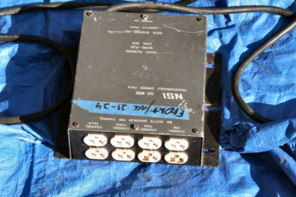 4 NSI ND 4600 Dimmer Pack with 48 Channel board - $1000 (New Iberia)