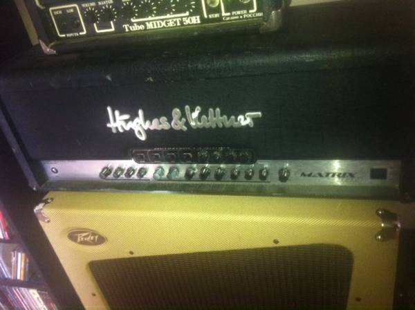hughes and kettner matrix 100 - $400 (LAFAYETTE)