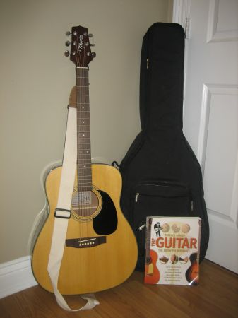 Takamine G-240 Acoustic Guitar (plus accessories) - $150 (Baldwin, LA)